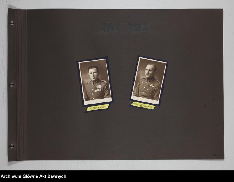 """Obraz 6 z jednostki """"Zbiór fotografii. Album Korpus podoficerów zawodowych 6 pułku piechoty Legionów. Wilno 28 VII 1934."""""""