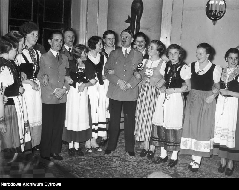 """Obraz 2 z jednostki """"Jubileusz czterdziestych urodzin ministra propagandy III Rzeszy Josepha Goebbelsa"""""""