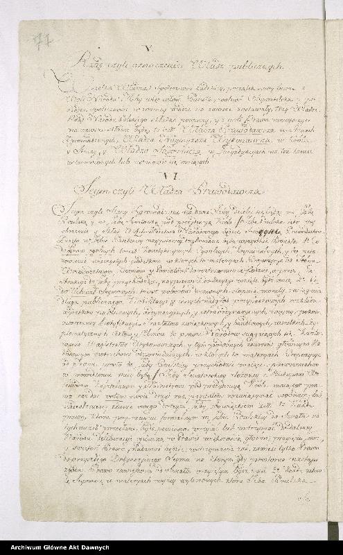 """Obraz 5 z kolekcji """"Oryginał Konstytucji 3 maja"""""""
