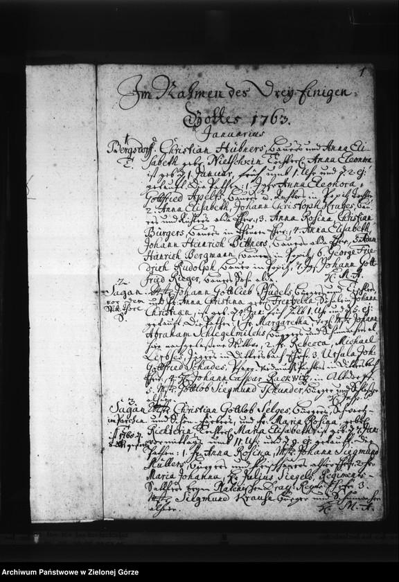 """Obraz z jednostki """"Tauf - Buch Stadt und Land 1763 - 1773"""""""