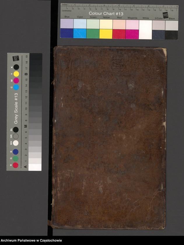 """Obraz 9 z kolekcji """"Najcenniejsze i najciekawsze dokumenty w zasobie Archiwum Państwowego w Częstochowie"""""""