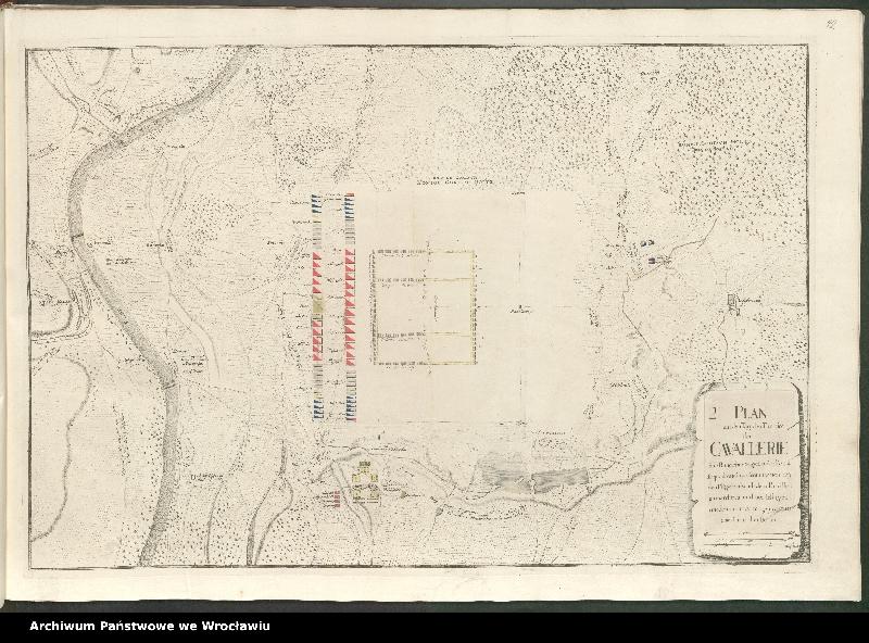 """Obraz 6 z kolekcji """"Obóz wojsk polskich i saksońskich pod Radewitz, 1730"""""""
