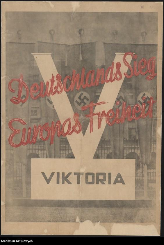 """Obraz 16 z kolekcji """"Propaganda niemiecka z okresu II wojny światowej."""""""