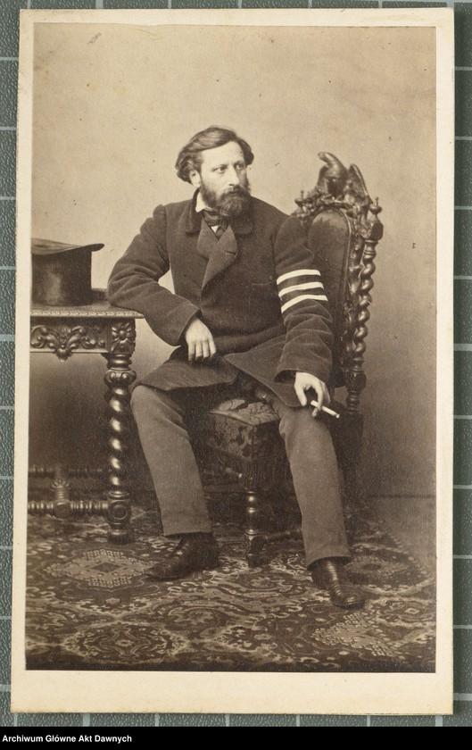 """Obraz 3 z kolekcji """"Fotografie członków Delegacji Miejskiej z 1861 roku"""""""