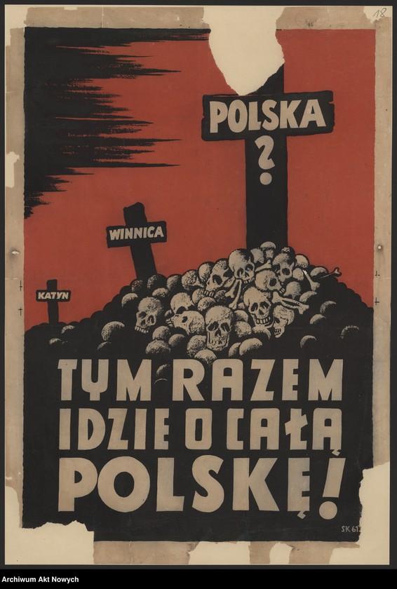 """Obraz 14 z kolekcji """"Propaganda niemiecka z okresu II wojny światowej."""""""