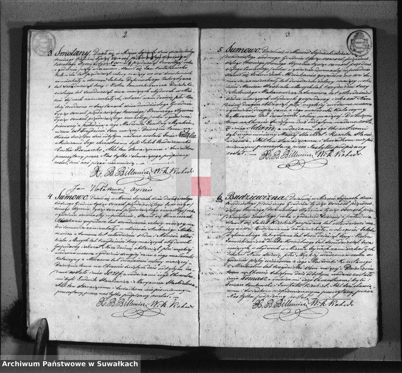 """image.from.unit """"Duplikat urodzonych, zaślubionych i umarłych parafii sejneńskiej z roku 1854"""""""