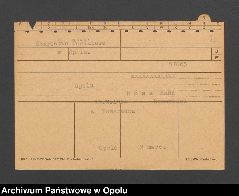 """Obraz 4 z jednostki """"[Nieslony Peter, ur. 20.8.1872, zam. Rodewalde]"""""""