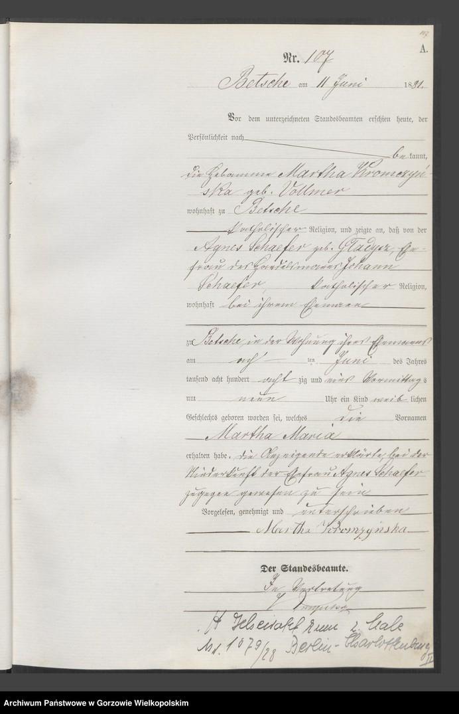 """image.from.team """"Urząd Stanu Cywilnego w Pszczewie"""""""