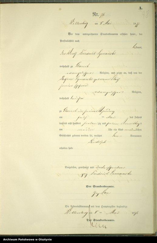 """image.from.team """"Urząd Stanu Cywilnego w Kucborku pow. szczycieński"""""""