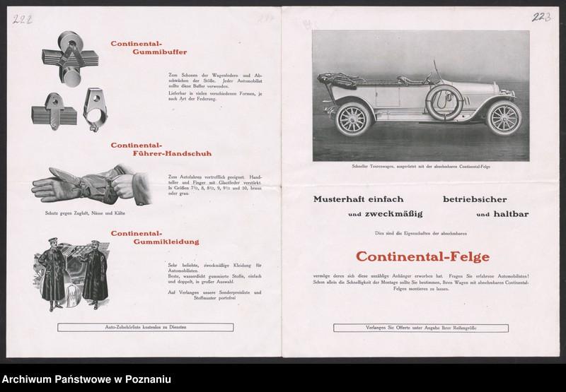 """Obraz 9 z kolekcji """"Automobile - prospekty reklamowe z początku XX wieku"""""""