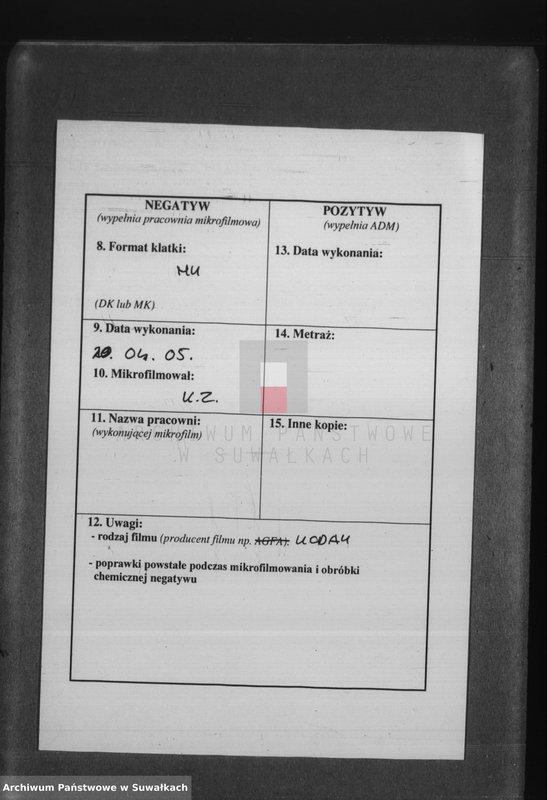 """Obraz z jednostki """"[Akta małżeństw wyznania rzymskokatolickiego parafii w Krasnymborze z lat 1886-1898]"""""""