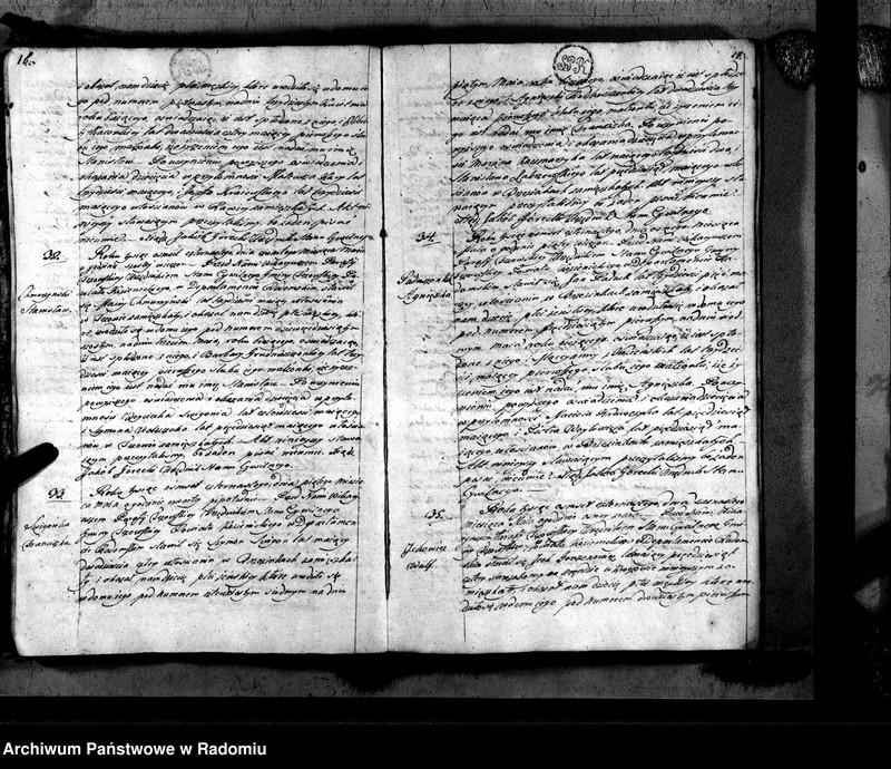"""Obraz 11 z jednostki """"Tczów 1814 [Duplikat akt urodzonych, zaślubionych i zmarłych]"""""""