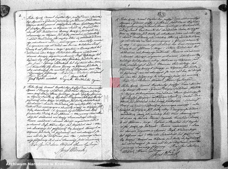 """Obraz z jednostki """"Księga Aktow Urodzenia i Uznania parafii S Floryana na Rok 1835"""""""