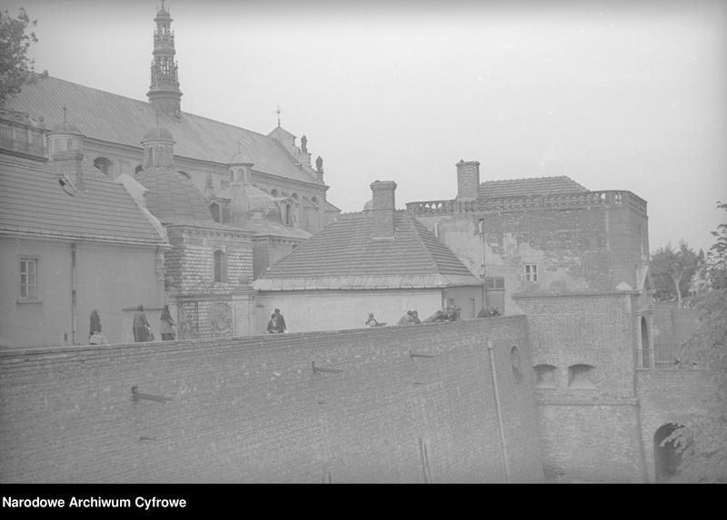 Obiekt Widok zewnętrzny klasztoru. z jednostki Częstochowa