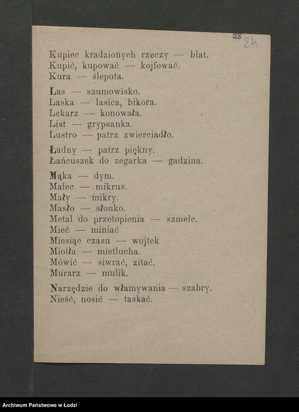 """Obraz 13 z kolekcji """"Ciekawostki z zasobu"""""""