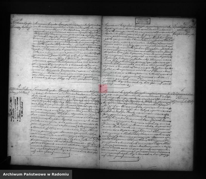 "Obraz z jednostki ""Dublikat aktov o roždenii, brakosočetanii, smerti prihoda Bžuzy v 1869 g."""