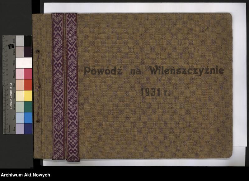 """Obraz 4 z jednostki """"Powódź na Wileńszczyźnie w 1931 r. Album z fotografiami."""""""