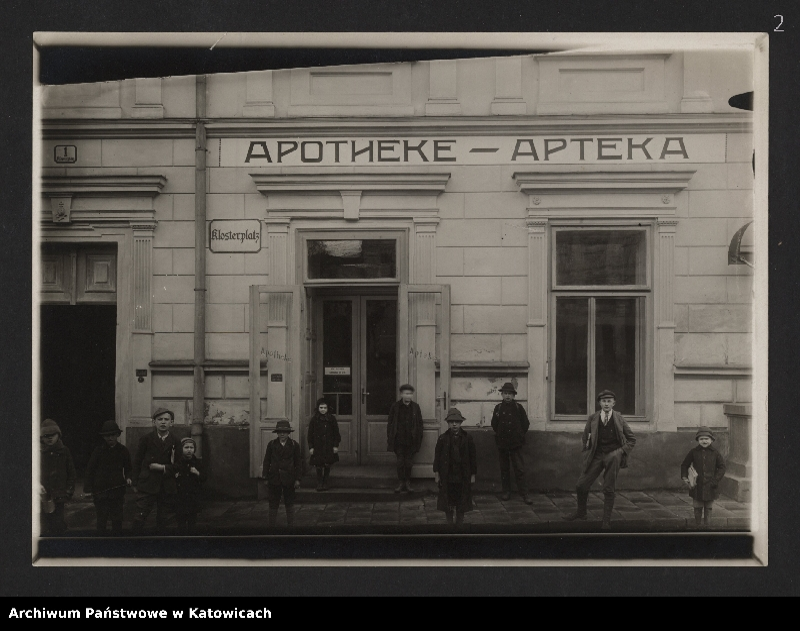 """Obraz 1 z kolekcji """"Fotografie Cieszyna z okresu 1918-1920"""""""