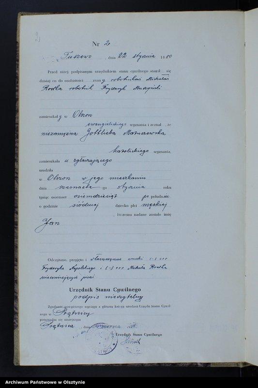 """image.from.unit """"Ksiega urodzeń Nr 1 - 50,1 - 43,1 - 54,1 - 49 /brak 1884,i 1 - 51 /przepisana w języku polskim z oryginału niemieckiego w dniach 10.06.- 24.06.1950/"""""""