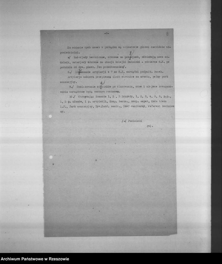 """Obraz 6 z kolekcji """"Legiony Polskie w zbiorach AP Rzeszów"""""""