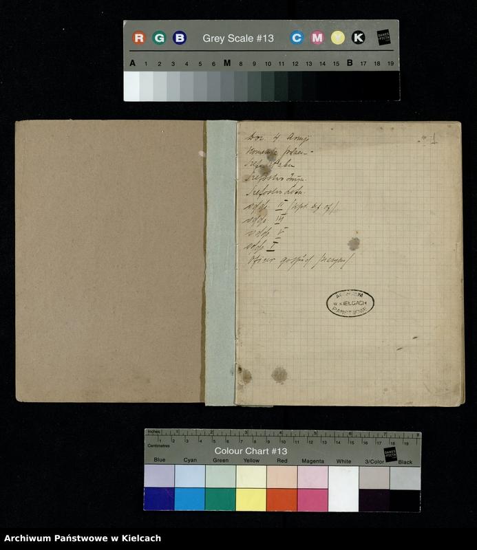 """image.from.unit """"Notatnik z piosenkami S.P. i O. z 1920 roku oraz Notesik żołnierski Stanisławy Olędzkiej-Daszewskiej"""""""