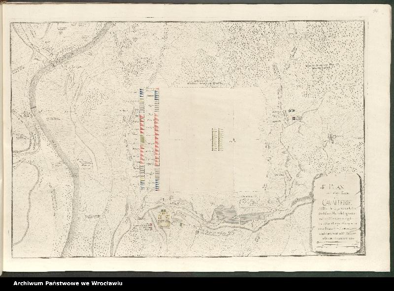 """Obraz 9 z kolekcji """"Obóz wojsk polskich i saksońskich pod Radewitz, 1730"""""""