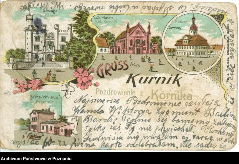 """Obraz 13 z kolekcji """"Poznań na pocztówkach"""""""