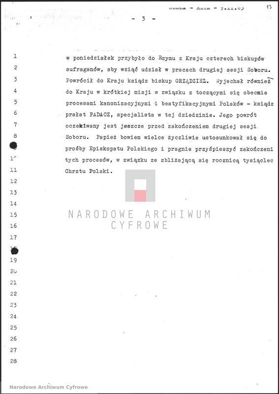 """Obraz 14 z jednostki """"Skrypty audycji z dnia 09.11.1963"""""""