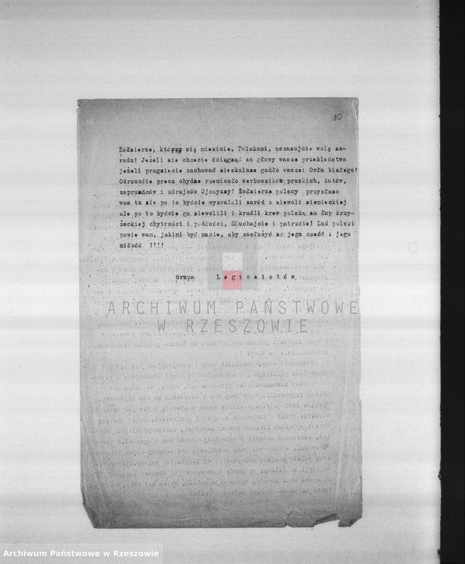 """Obraz 9 z kolekcji """"Legiony Polskie w zbiorach AP Rzeszów"""""""