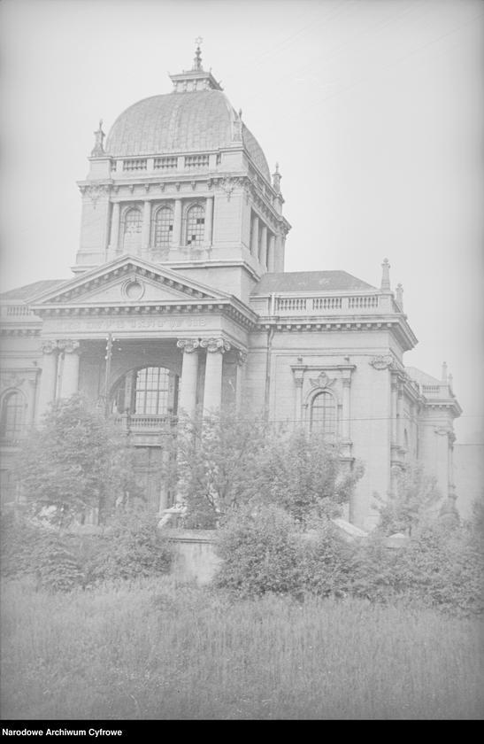 Obiekt Widok zewnętrzny Nowej Synagogi. z jednostki Częstochowa