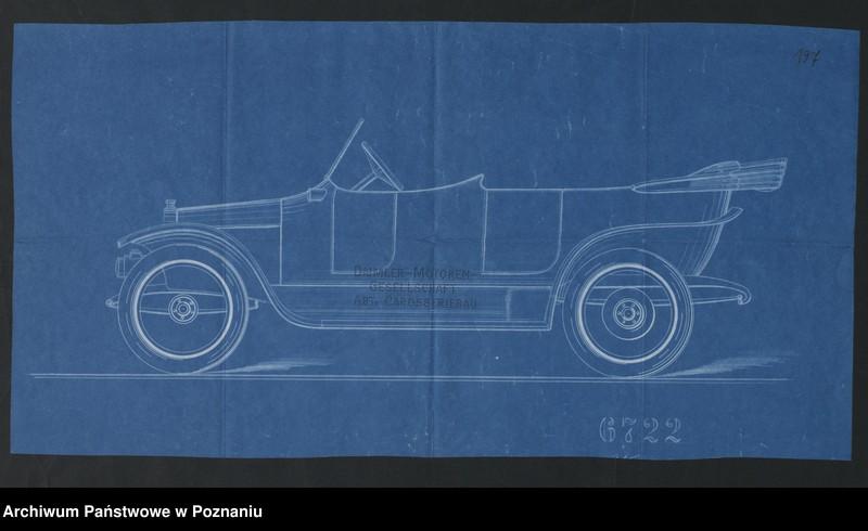 """Obraz 8 z kolekcji """"Automobile - prospekty reklamowe z początku XX wieku"""""""