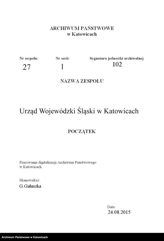 """Obraz 3 z jednostki """"[Zwolnienie z pracy około 80 funkcjonariuszy straży celnej Śląskiego Inspektoratu Okręgowego Straży Granicznej: wykazy zwolnionych, odwołania, prośby o zatrudnienie, opinie]"""""""