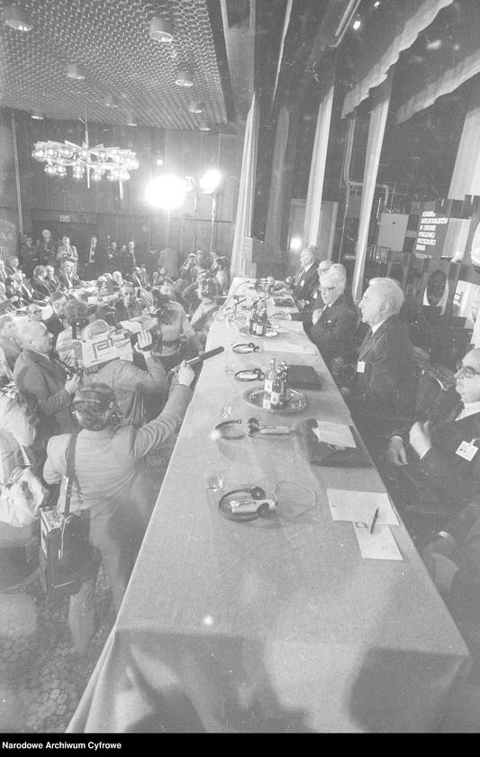 """Obraz 7 z jednostki """"Kongres Intelektualistów w Obronie Pokojowej Przyszłości Świata w Hotelu Victoria w Warszawie"""""""