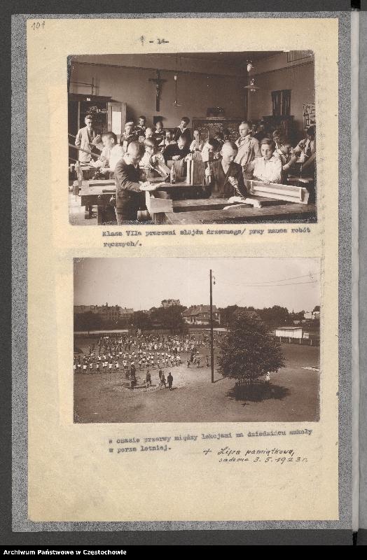 """Obraz 4 z kolekcji """"Pierwszy dzwonek - rozpoczęcie roku szkolnego w kronikach"""""""