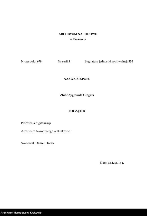 """image.from.unit.number """"Wilsk - inwentarz (żytomierskie, k. Cudnowa)"""""""