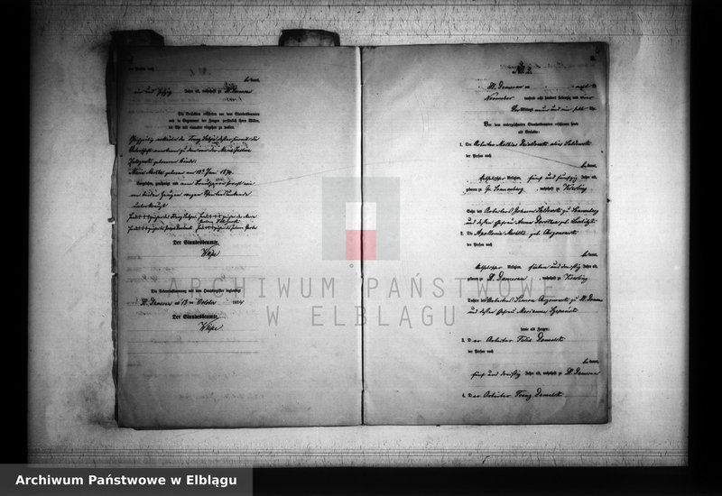 """Obraz z jednostki """"Księga małżeństw 1874 rok"""""""
