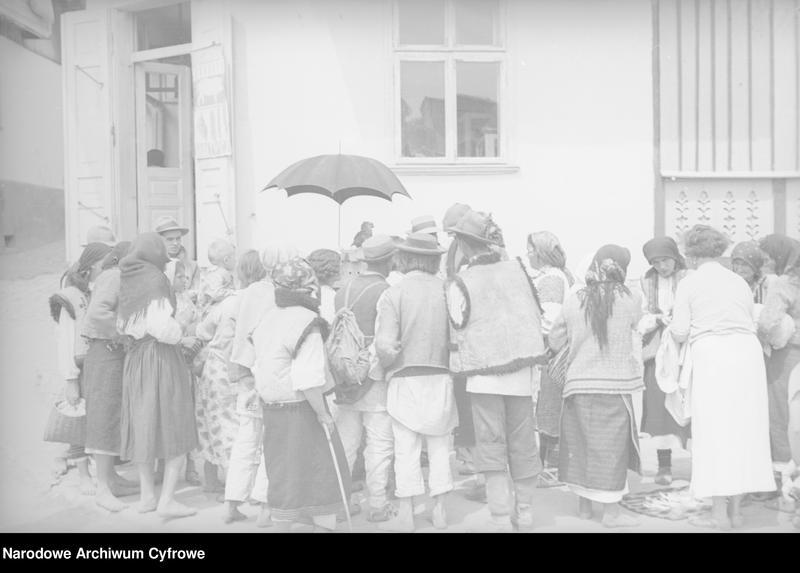 Obiekt Huculi na jarmarku w Kosowie. z jednostki Huculskie typy ludowe