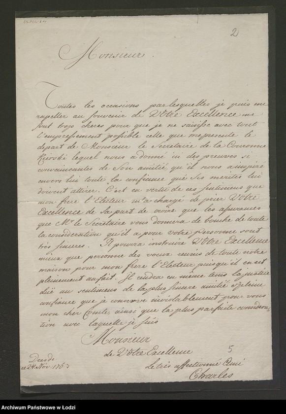 """Obraz 15 z kolekcji """"Rękopisy i druki z okresu staropolskiego"""""""