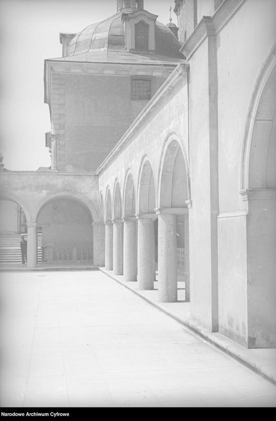 Obiekt Fragment krużganka klasztornego. z jednostki Częstochowa