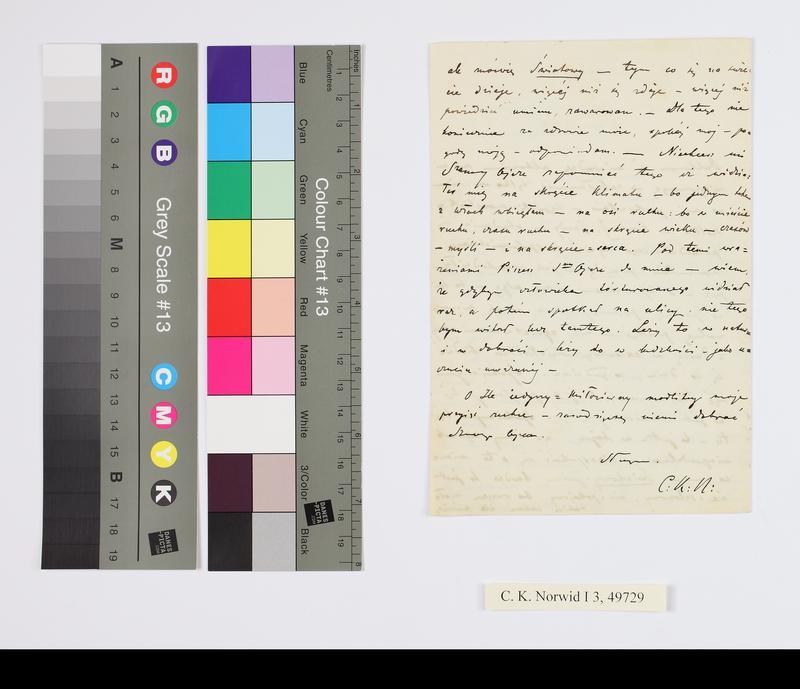 "Obraz z jednostki ""list do O. Semenenki"""
