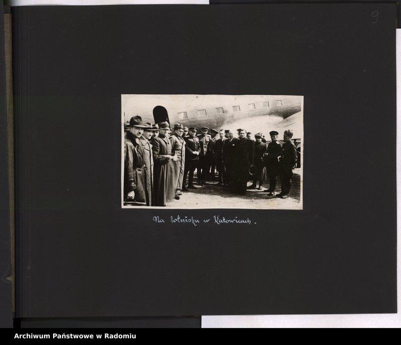 """Obraz 10 z jednostki """"[Album fotograficzny dokumentujący reaktywowanie krajowych połączeń lotniczych przez Polskie Linie Lotnicze """"Lot""""]"""""""