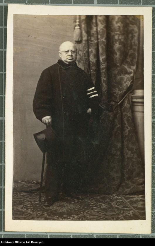 """Obraz 1 z kolekcji """"Fotografie członków Delegacji Miejskiej z 1861 roku"""""""