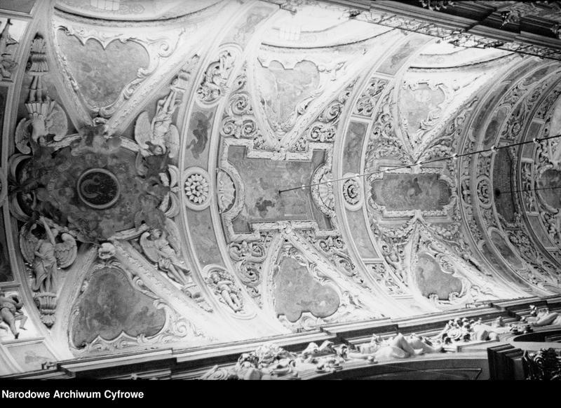 Obiekt Obraz Matki Boskiej na sklepieniu w nawie głównej bazyliki. z jednostki Częstochowa