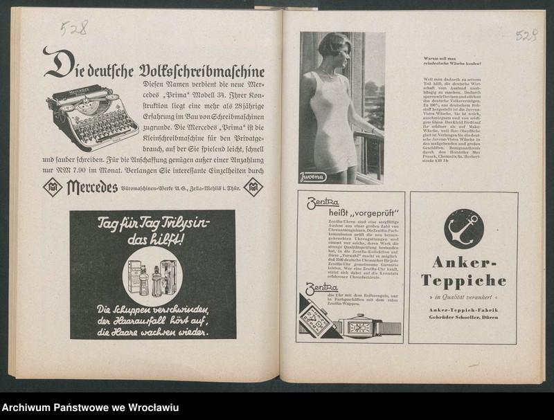 """Obraz 7 z kolekcji """"Reklamy znanych marek w roczniku """"Unsere Saar"""" z 1935 roku"""""""
