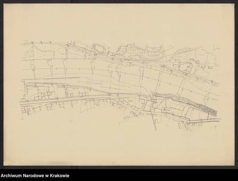 """Obraz 9 z jednostki """"[Kraków (część) Plan sytuacyjno-warstwicowy sprzed 1908 (kolej obwod.) po 1903 r.]"""""""