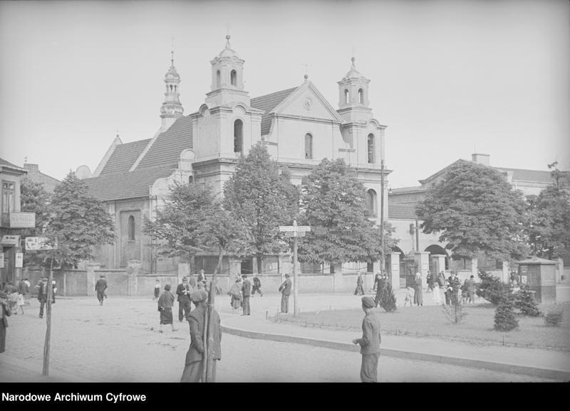 Obiekt Widok zewnętrzny kościoła pod wezwaniem św. Zygmunta. z jednostki Częstochowa