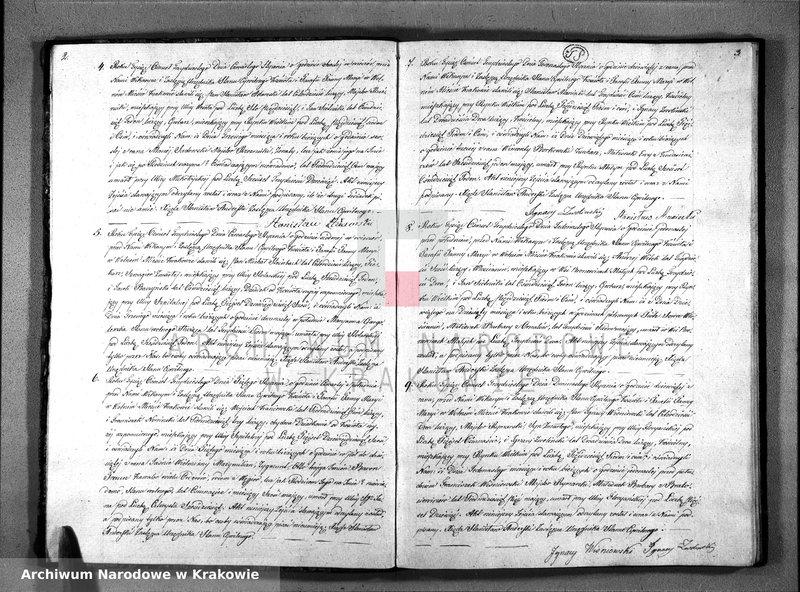 """Obraz z jednostki """"Akta Zejscia Stanu Cywilnego Parafii Panny Maryi z Roku 1830"""""""
