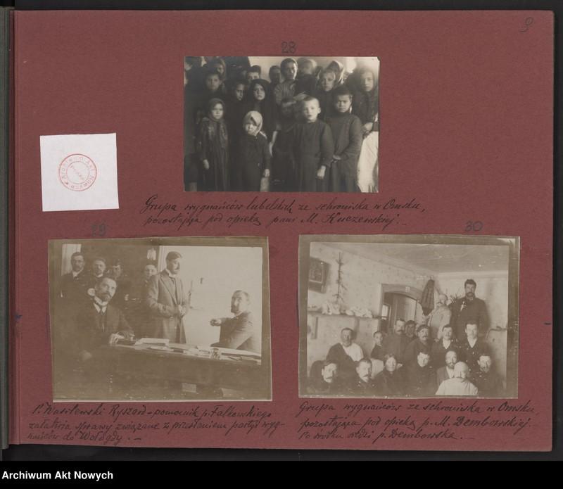 """Obraz 4 z kolekcji """"Album """"Szlakami wygnańców"""" 1915-1916"""""""