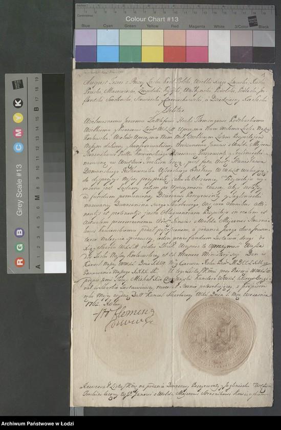 """Obraz 4 z kolekcji """"Rękopisy i druki z okresu staropolskiego"""""""