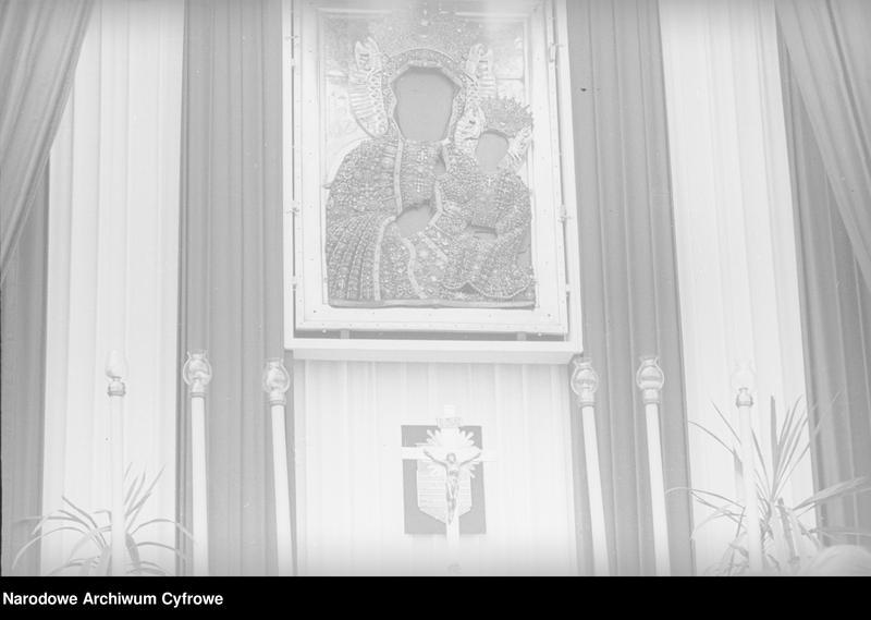 Obiekt Obraz Matki Boskiej Częstochowskiej. z jednostki Częstochowa